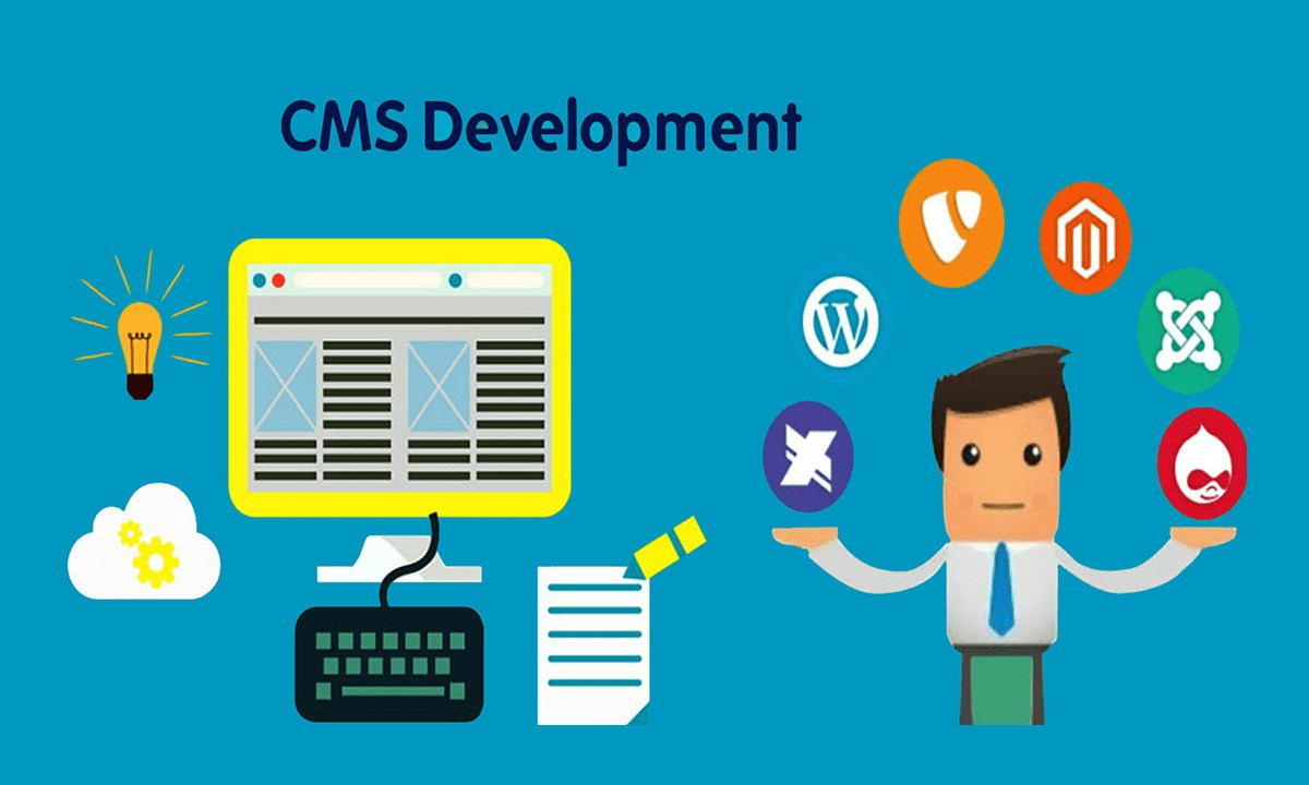 CMS Development - custom cms solutions