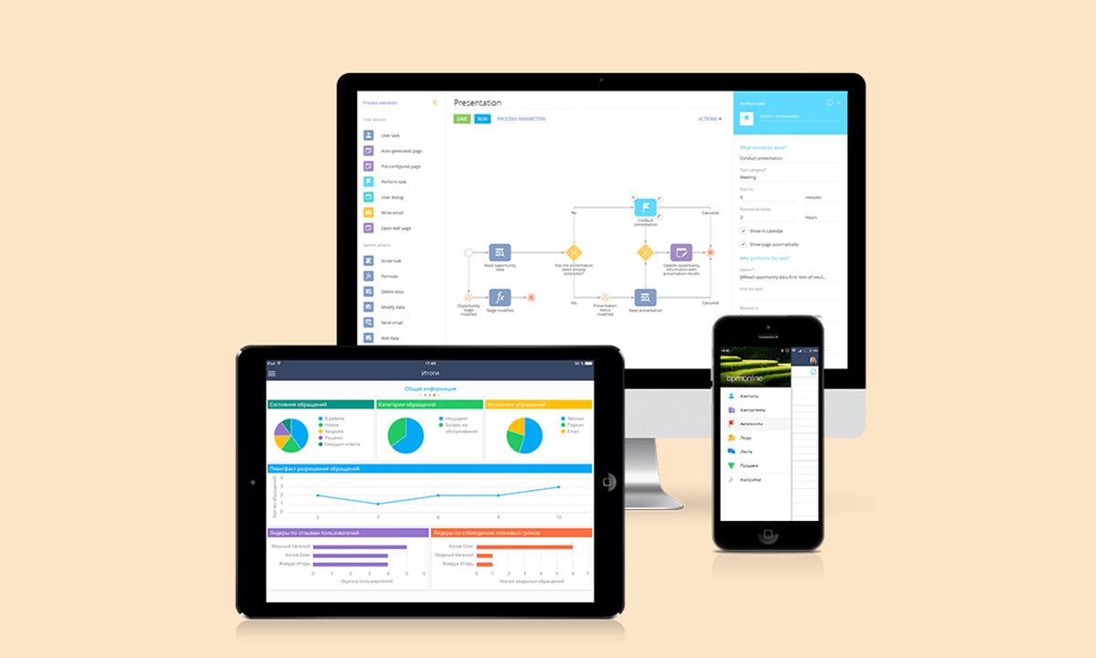 CRM Mobile Applications - Custom CRM Software Development Company