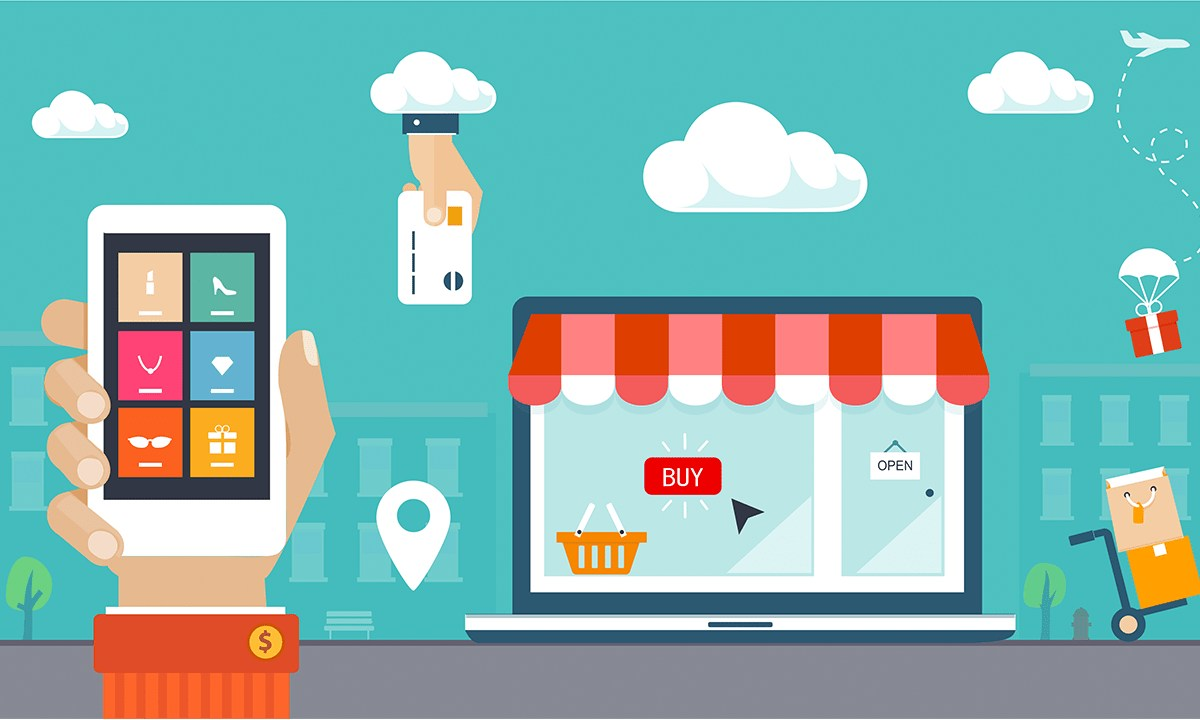 E-Commerce Mobile Application Development - Ecommerce Solutions for Enterprise