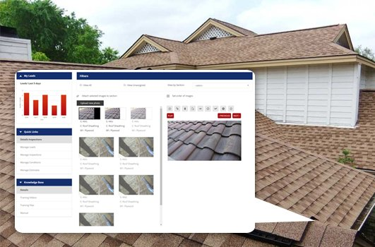 Roofing CRM Portal