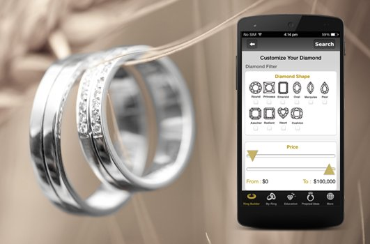 Customized Ring Builder Application