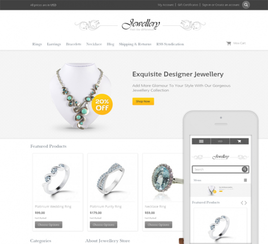 2016 is the year for Jewelry mobile websites- The next 'BIG' Thing!
