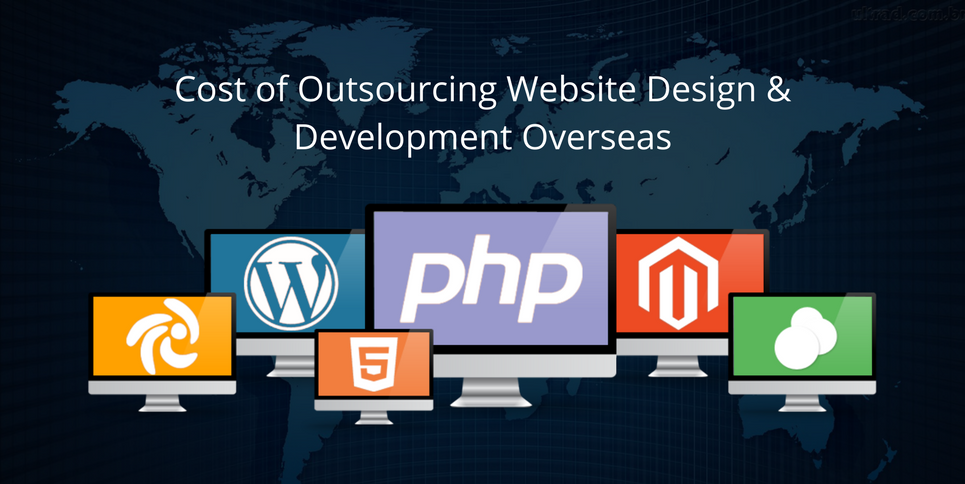 Cost of Outsourcing Website Design & Development Overseas
