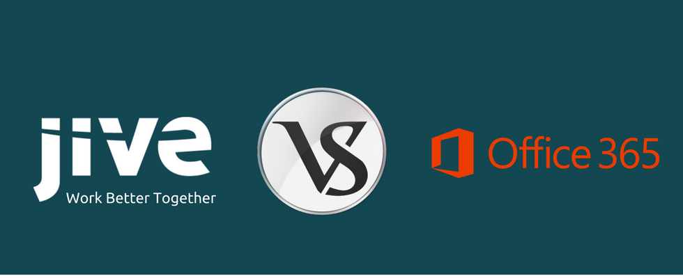 Evaluating Jive and Microsoft Office 365 in Juxtapose