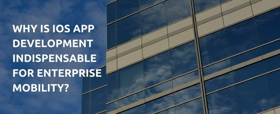 Why is iOS App Development Indispensable for Enterprise Mobility?