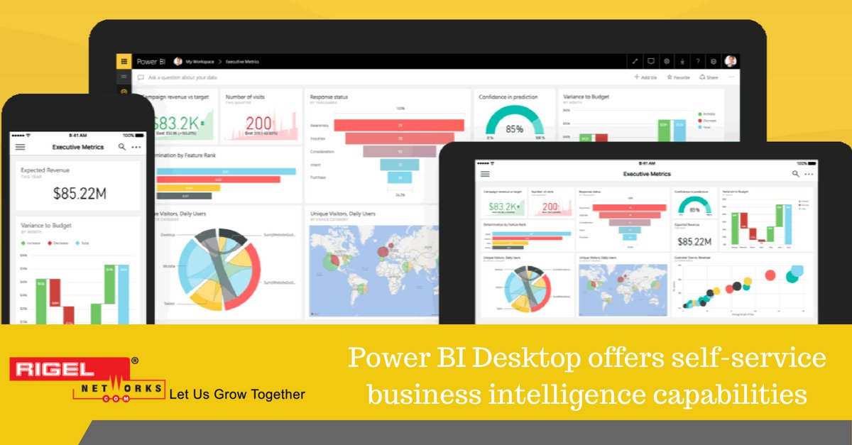 Power BI Enables Businesses with Excellent Data Visualization