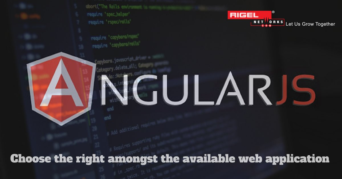 Choosing AngularJS for developing your next web application?