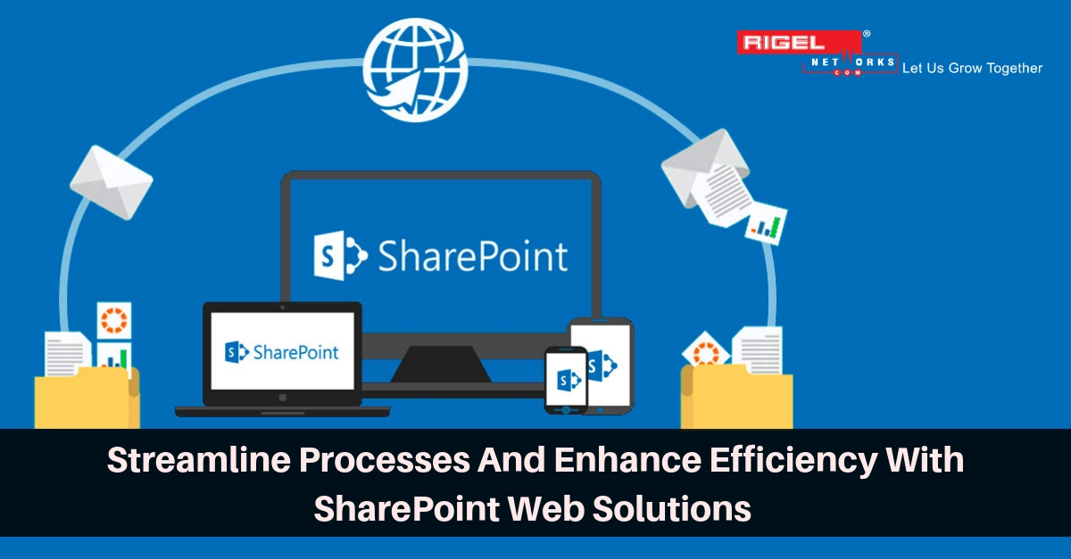 SharePoint – Simplest Way To Collaborate, Share And Retrieve Information