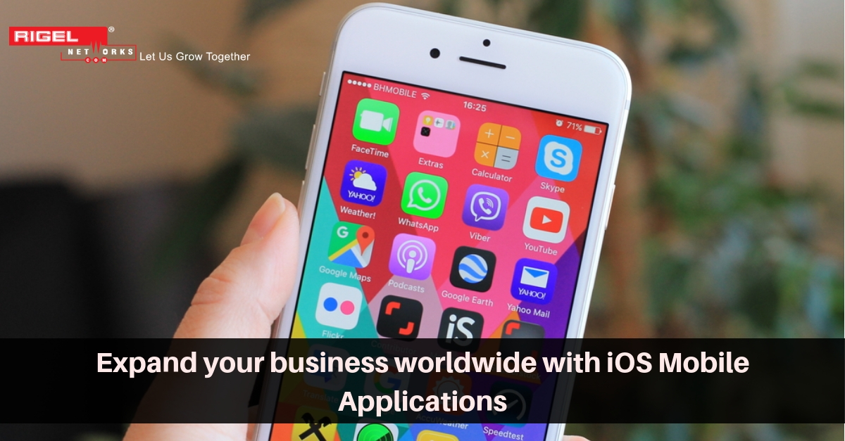 Create a Smart iOS Mobile Applications for Your Business Today!